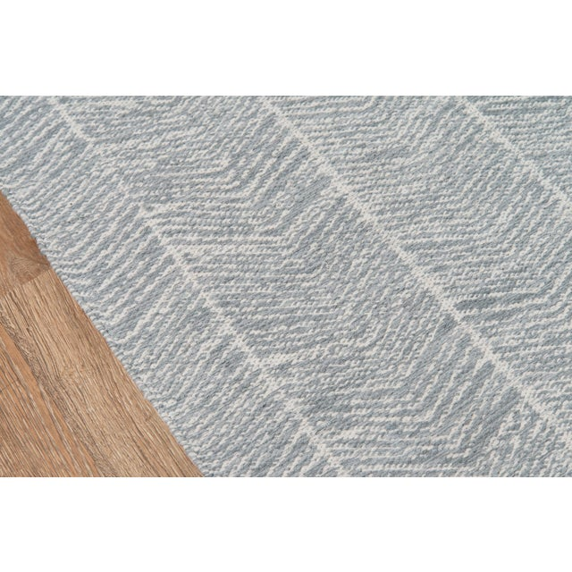Contemporary Erin Gates by Momeni Easton Congress Grey Indoor/Outdoor Hand Woven Area Rug - 7′6″ × 9′6″ For Sale - Image 3 of 7