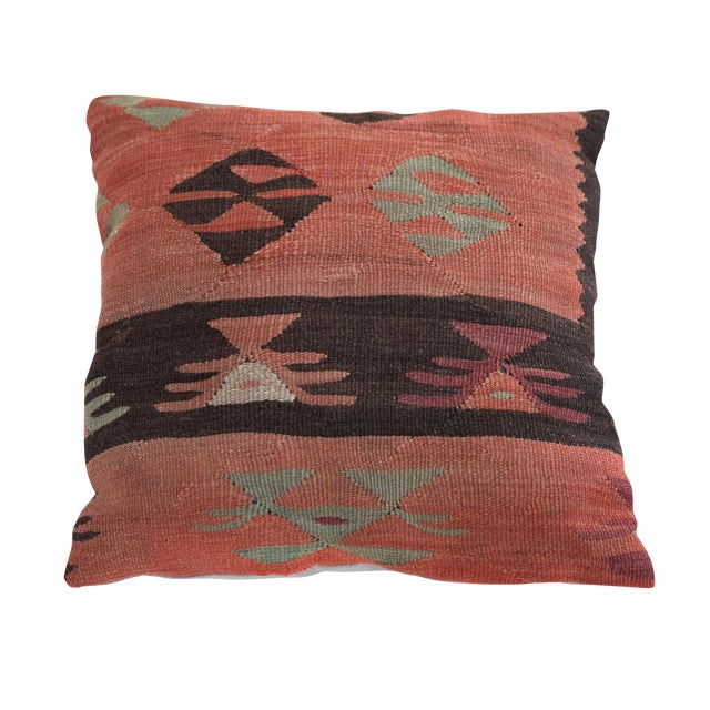 Vintage Kilim Pillow - Image 1 of 4