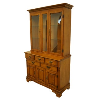 """Tell City Colonial Style Solid Maple 45"""" Buffet Preview"""