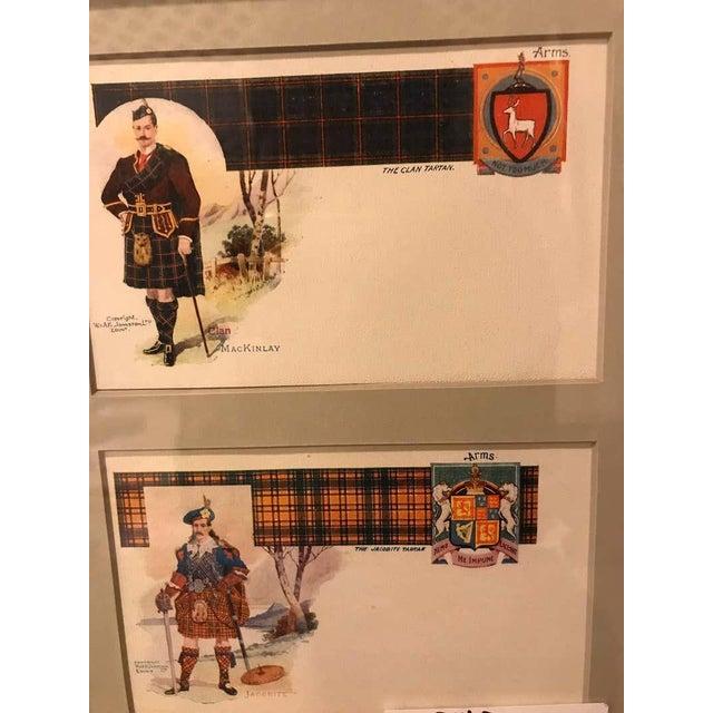 Set of 12 Custom Finely Framed Scottish Postcards, Vintage Catherine Reiss Inc For Sale - Image 4 of 11