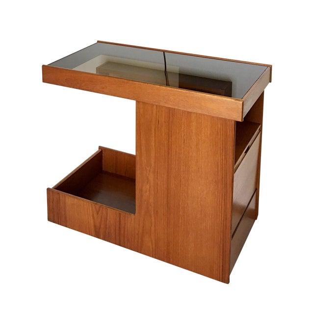 Pedersen & Hansen Danish Modern Bar Cart - Image 11 of 11