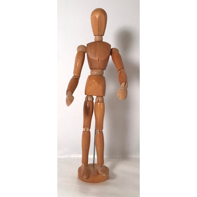 20th Century Figurative Artist Model of Articulating Man For Sale - Image 11 of 11