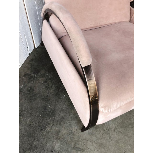 1980s Vintage George Mulhauser for Design Institute of America Lounge Chair For Sale - Image 9 of 12