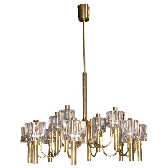 Chandelier, 12 light For Sale