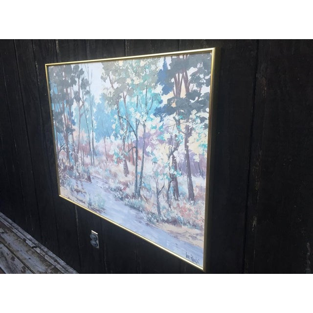 Large oil painting on canvas by the Vanguard Studios and signed Lee Reynolds. This painting dates to the 1950s/1960s and...