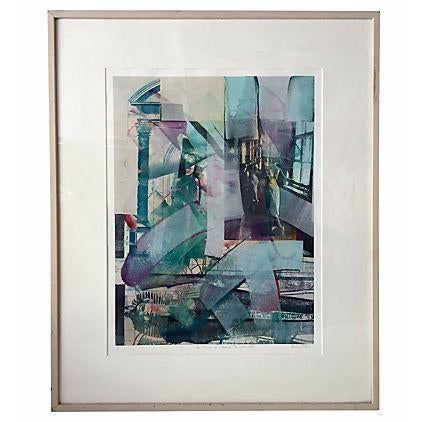 Richard Hall Modernist Abstract Painting - Image 1 of 6