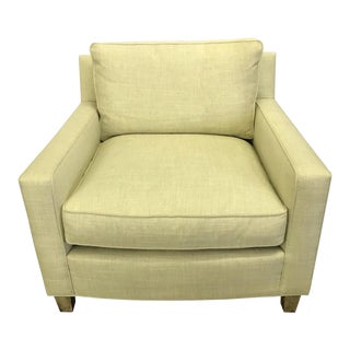 Mid-Century Modern Hickory Chair Furniture Company Upholstered Lounge Chair For Sale