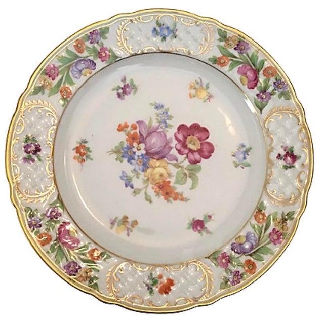 "Set of nine Schumann Empress plates. Signed ""Schumann Bavaria Germany US Zone Empress."" Minor wear."