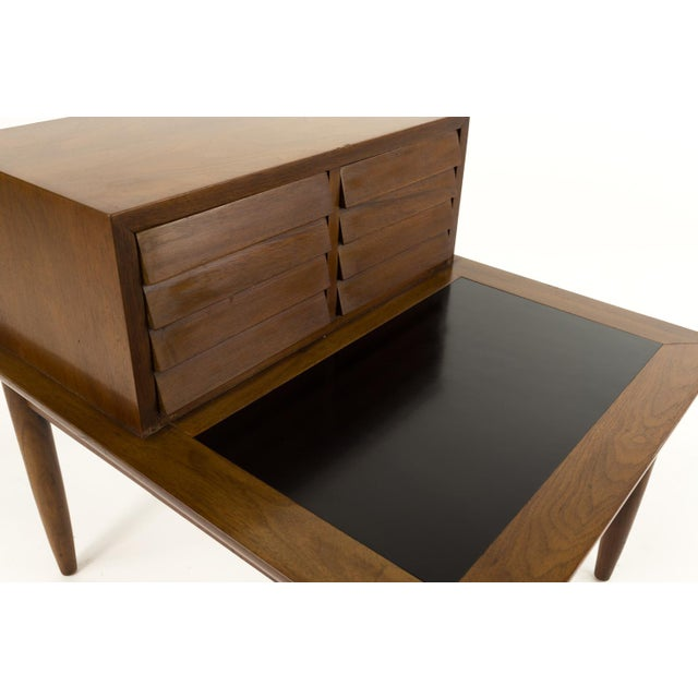 Wood Mid Century Modern Merton Gershun for American of Martinsville Nightstand For Sale - Image 7 of 10