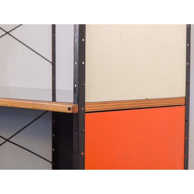 Metal Charles & Ray Eames Esu 400 C Storage Unit for Herman Miller For Sale - Image 7 of 11