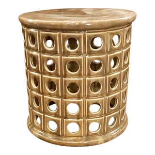 Tiktok Ceramic Garden Stool For Sale