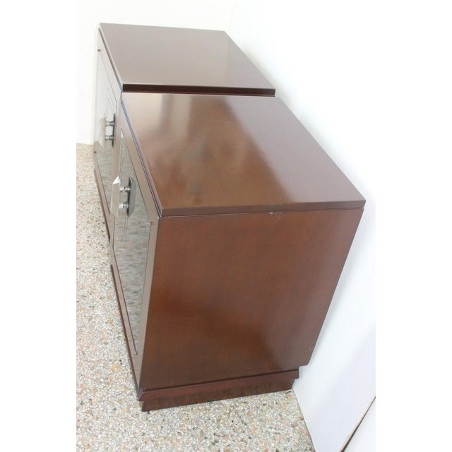 Black 1930s French Art Deco Moderne Night Stands - a Pair For Sale - Image 8 of 13