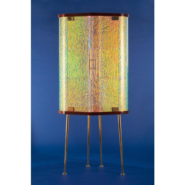 Hand Made / Limited Edition / With Certificate Signed and Numbered By Artist Troy Smith Materials Solid Brass Legs, Feet,...