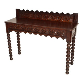 Gothic Revival Console Table For Sale