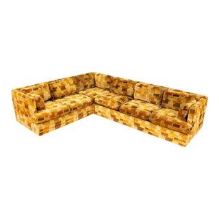 Jack Lenore Larsen Mid Century Modern Sectional Sofa For Sale