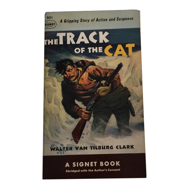 The Track of the Cat 1950 First Edition For Sale