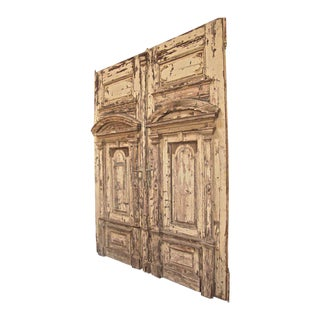 19th C. Oversized Doors For Sale