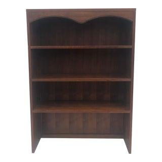Mid Century Modern Walnut Bookcase by Lane Furniture For Sale