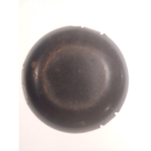 Mid-Century Modern Large Enamelware Ashtray For Sale - Image 6 of 9