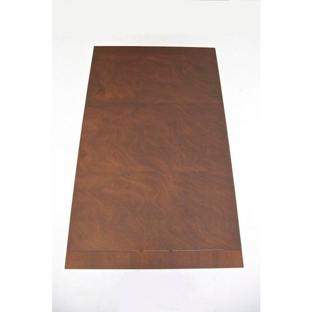 Mahogany T.H. Robsjohn-Gibbings Dining Table For Sale - Image 7 of 10