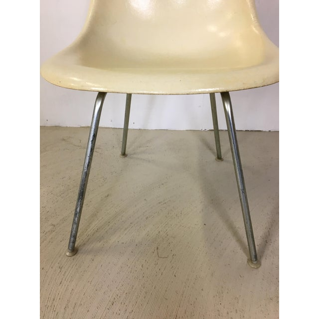 Five Fiberglass Eames Shell Chairs for Herman Miller For Sale In Boston - Image 6 of 8