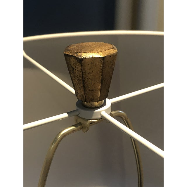 Gold E.F. Chapman for Visual Comfort Fluted Spire Floor Lamp For Sale - Image 8 of 11