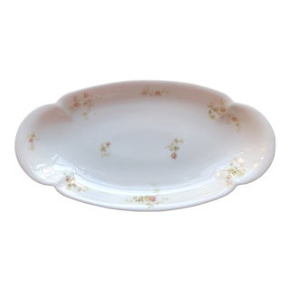 1920's Antique Haviland Limoges Long Serving Tray Platter For Sale