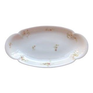 1920's Antique Haviland Limoges Long Serving Tray Platter