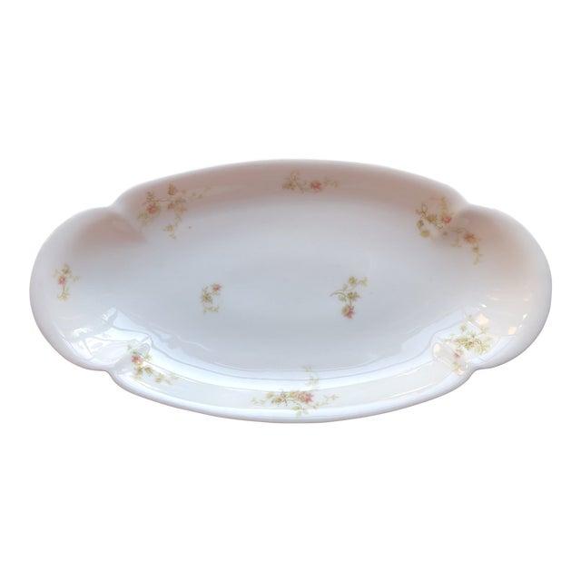 1920's Antique Haviland Limoges Long Serving Tray Platter For Sale