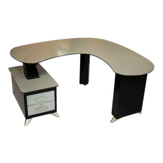 Metal Desk by Steiner For Sale