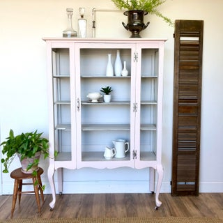 1930's French Provincial Curio Cabinet Preview
