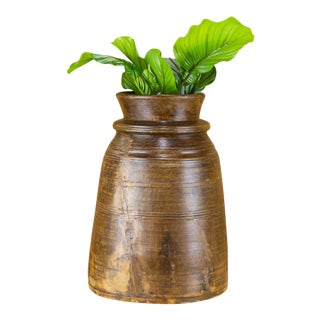 Nepalese Tribal Ghee Pot For Sale