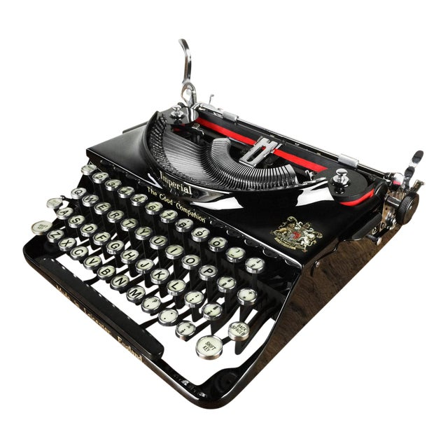 1930s Imperial 'Good Companion' Refurbished Portable Typewriter, Mint Condition - Image 1 of 7