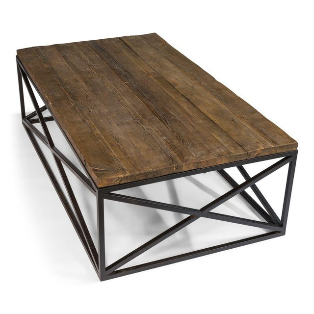 Sarreid Ltd Dockworker Board Coffee Table For Sale In Raleigh - Image 6 of 9