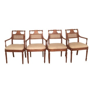 Stickley Classic Arm Chairs - Set of 4 For Sale