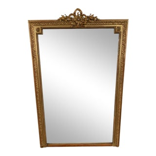 18th Century French Napoleon III Period Mirror For Sale