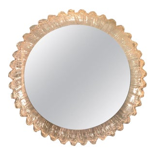 Illuminated Sunburst Mirror by Erco For Sale