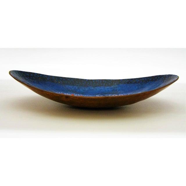 Mid-Century Modern Enamel & Copper Dish by Lopez Rodezno - Image 5 of 11