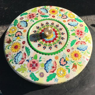 Vintage Lidded Decorative Tin Preview