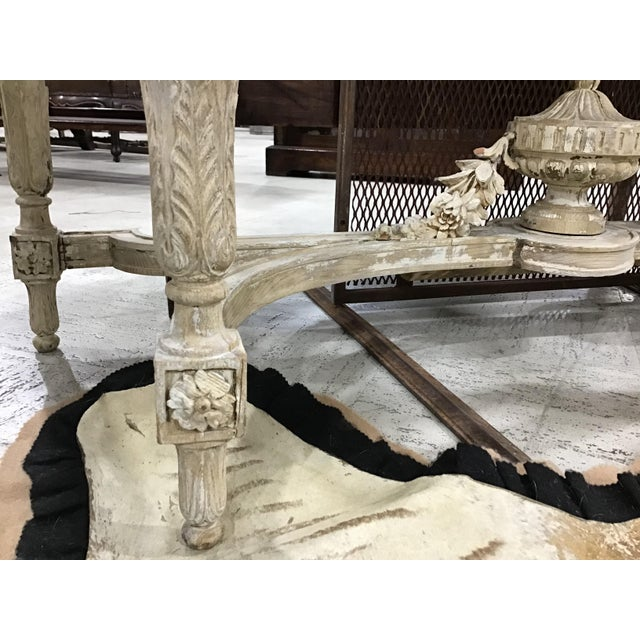 19th Century Louis XVI Style Console Table For Sale - Image 10 of 12