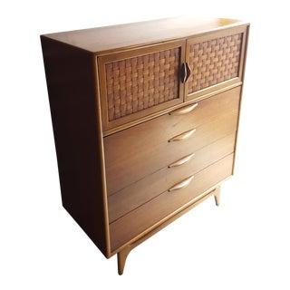 Mid-Century Modern Lane Perception Highboy Dresser For Sale