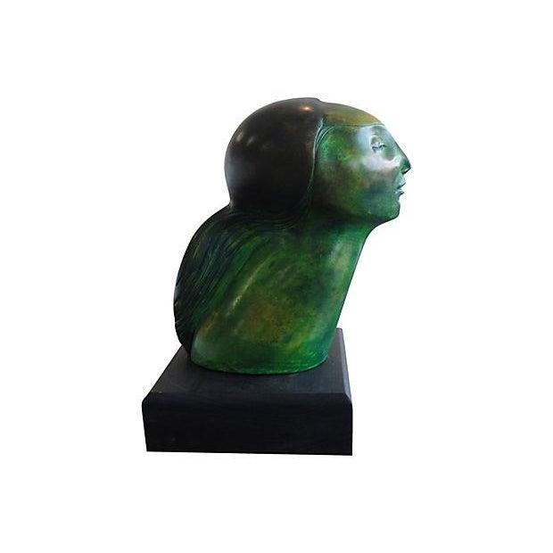 Porcelain Sculpture - Woman - Image 3 of 6