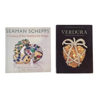 Jewelry Designer Books - a Pair For Sale