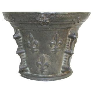 Early 17th Century French Bronze Mortar For Sale