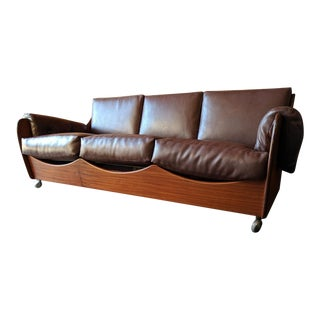 British Modern Vintage Teak Sofa by V.B. Wilkins for G Plan in the UK. 1960's For Sale