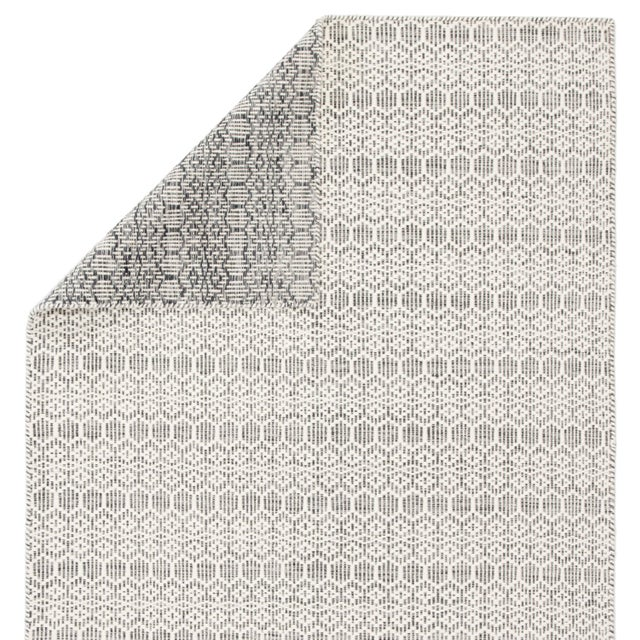 Jaipur Living Calliope Handmade Trellis White & Gray Area Rug - 2'x3' For Sale - Image 4 of 6