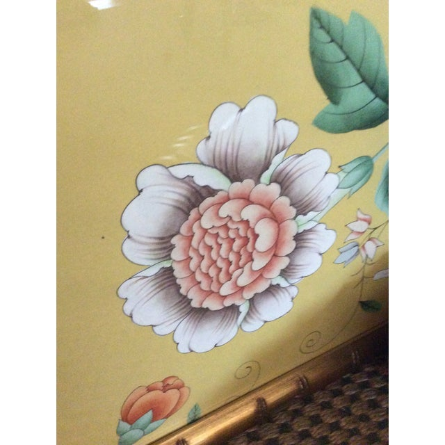 1970s Vintage Framed Gracie Wallpaper Panels - A Pair For Sale - Image 10 of 13