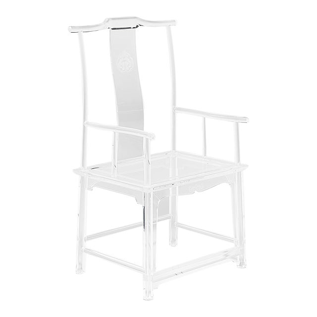 Invisible Administrator's Chair by July Zhou For Sale