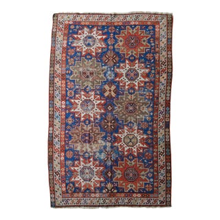 "Distressed Antique Kazak Rug - 5'11"" X 9'3"""