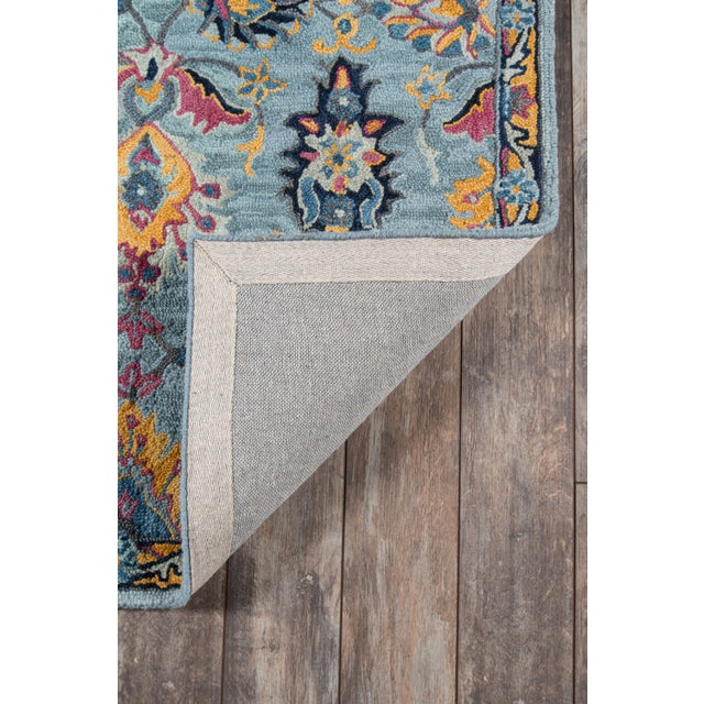 Ibiza Blue Hand Tufted Area Rug 3' X 5' For Sale In Atlanta - Image 6 of 8